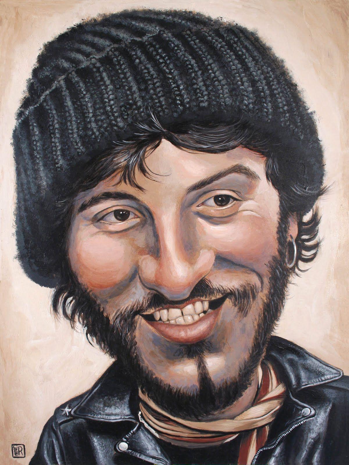Bruce Springsteen Celebrity caricatures, Caricature