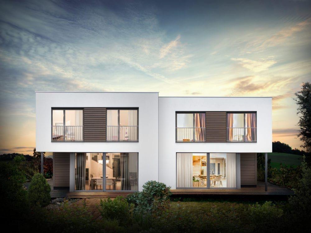 Griffner Town House I Doppelhaus I Reihenhaus Urban living