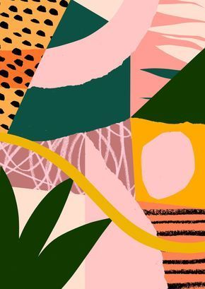 tomabbisssmithart #junglepattern