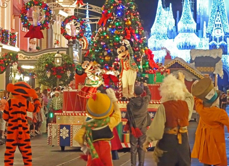Guide to Disney World Events in 2017 Very merry christmas party