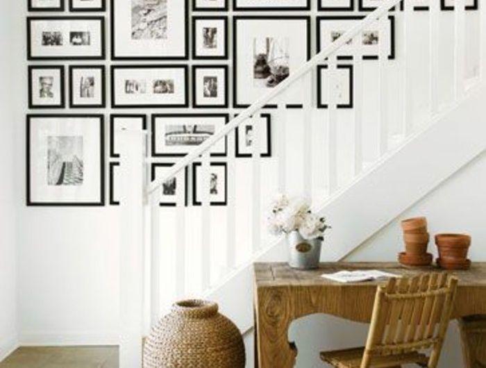55 ausgefallene Bilderwand und Fotowand Ideen – Archzine.net