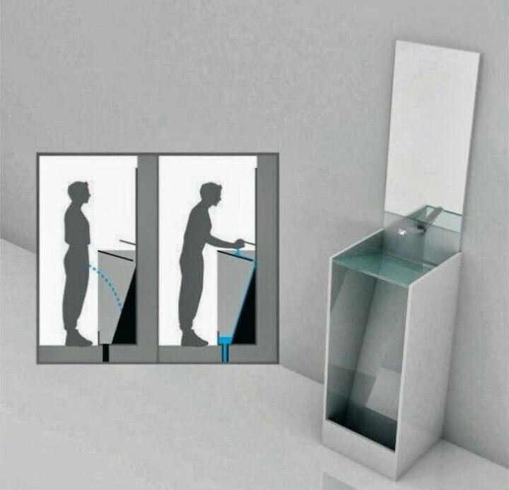 A mans toilet
