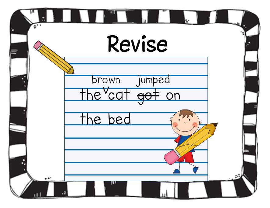 Writing process revise | Writing process, Teaching writing, Writing process  posters