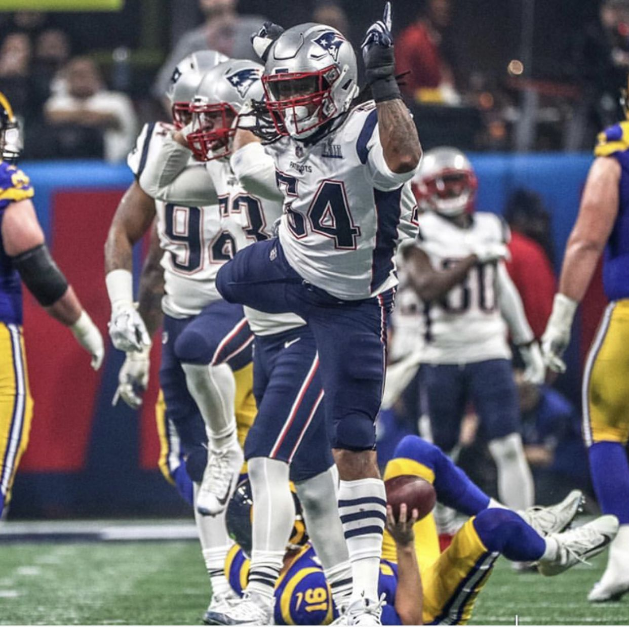 Dont A Hightower Super Bowl 53 New England Patriots Boston Sports England Patriots