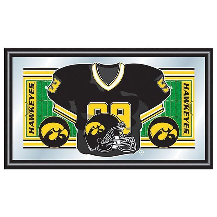 Trademark Commerce Ia1550f University Of Iowa Football Framed Jersey M In 2020 Football Jersey Frame Framed Jersey Iowa Football