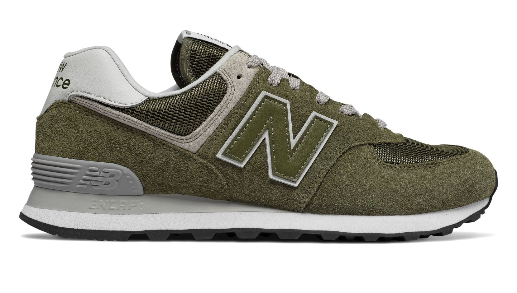 huge selection of 22843 11e4d New Balance 574, Olive | New Balance in 2019 | New balance ...