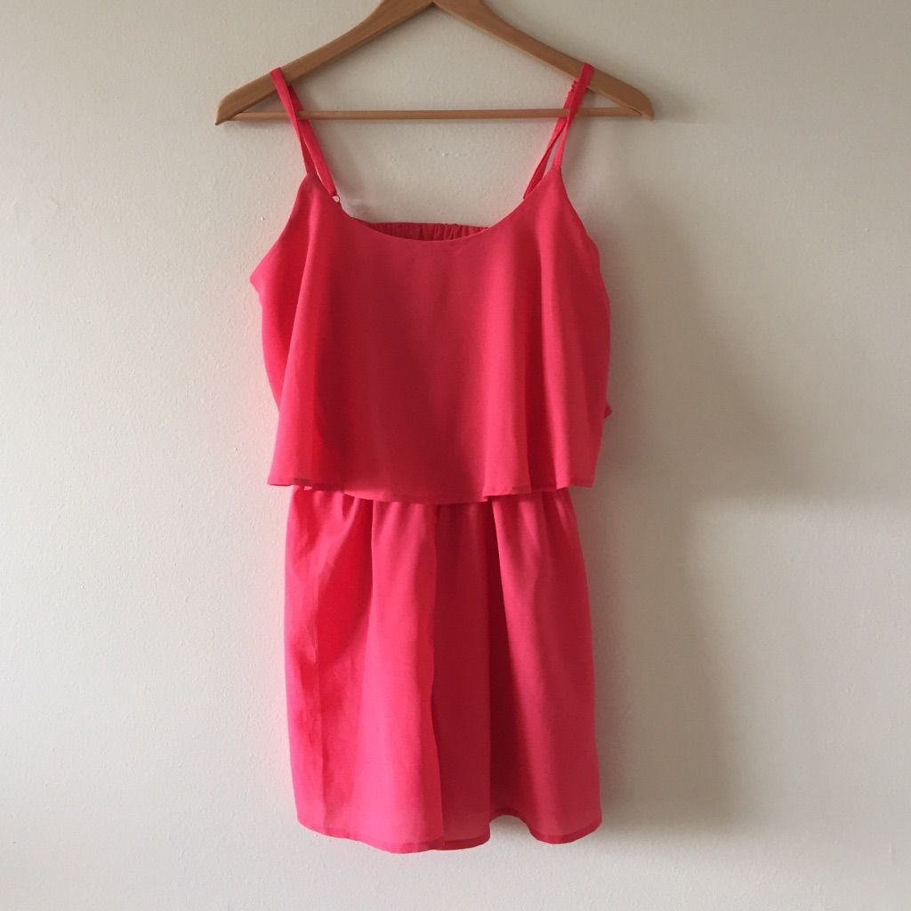 Salmon flowy love reign romper products pinterest reign and