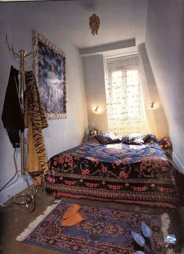 A small place of her own... Pierre et Gilles. Bohemian.