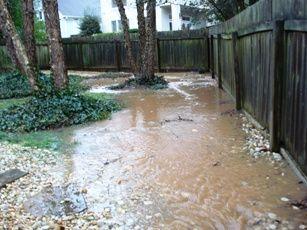Common Drainage Problems Yard Drainage Backyard