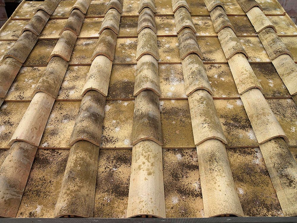 Roman Pan Clay Roof Tiles Clay Roofs Roof Tiles