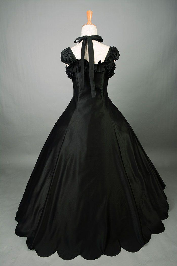 Prom Dress Gothic Princess