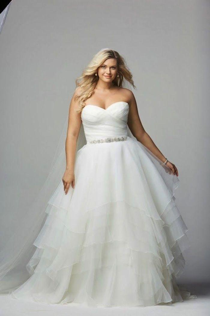 cce2e93e0a0 Plus Size Wedding Dresses  A Simple Guide - MODwedding