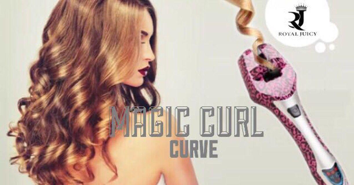رويال جوسي ماجيك كيرل تعمل على تجعيد الشعر في 3 ثوان عمل خصلات شعرك بشكل كيرلي أو مموج لم يكن سريع جدا وسهل في السابق ال Curled Hairstyles Curls Hair