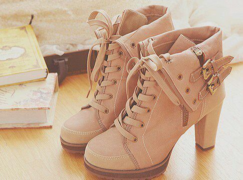 high heel boots . I really like these...maybe in a different color...but yes.