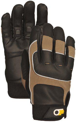 Gold Leaf Gents Winter Touch Gardening Gloves