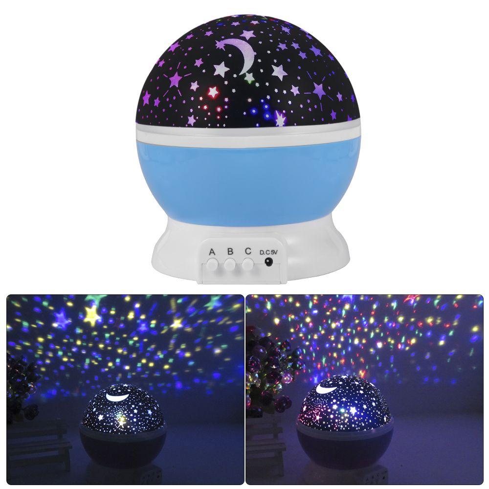 Rotierenden Nacht Licht Kindermobel Info Projektor Sternenhimmel Lampe Babyzimmer