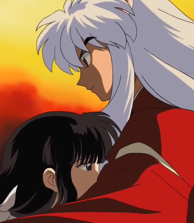 Kikyo And Inuyasha's Romantic Moment Before Their First