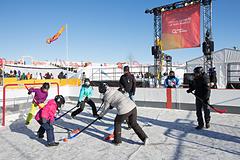 Hydro-Québec Floor Hockey