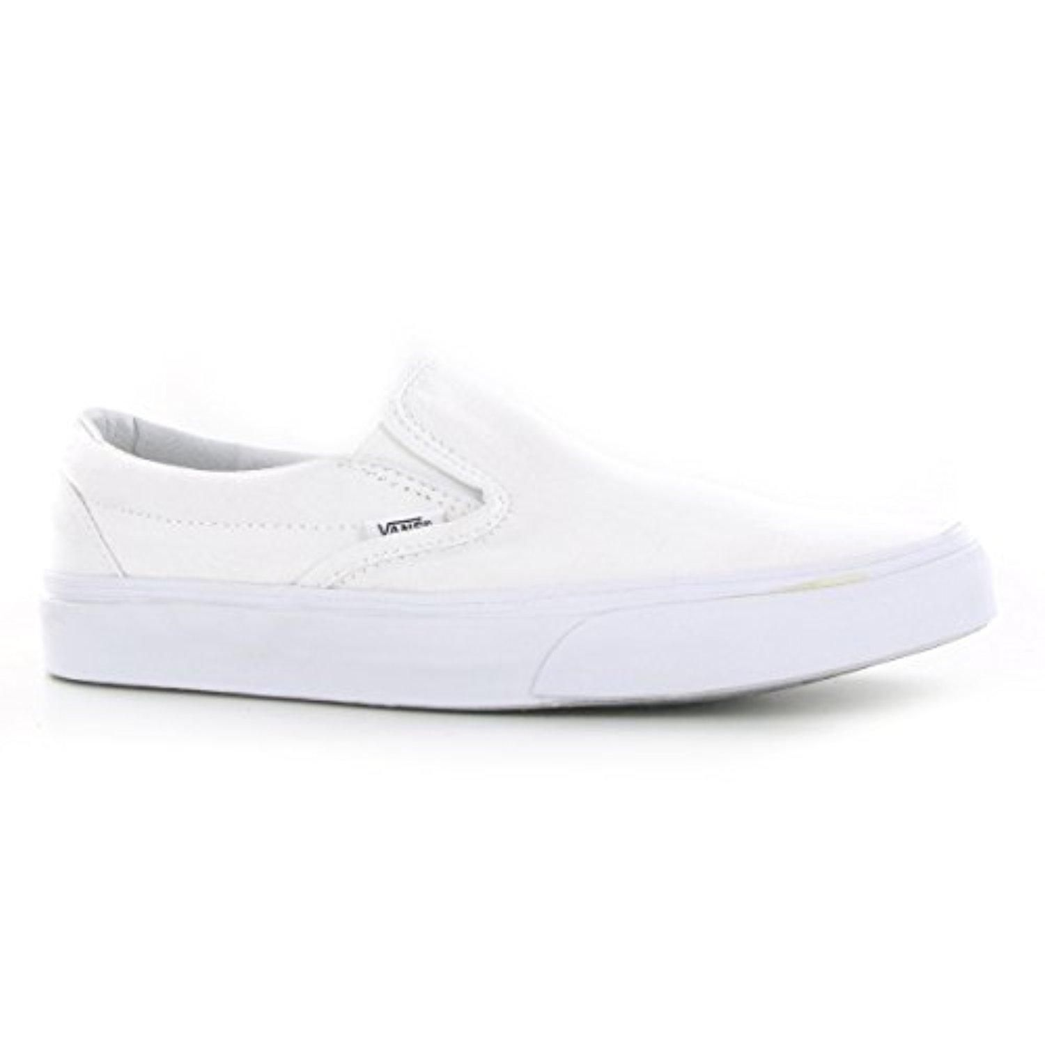 a79dab2c57f3 Vans Classic Slip On White Womens Trainers Size 7 US - Brought to you by  Avarsha.com