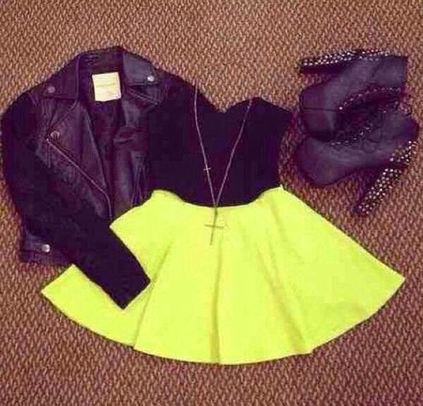 How to Chic: SKATER SKIRT - OUTFIT SET