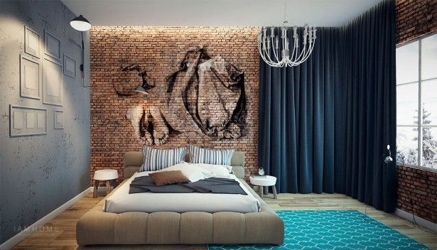interior wall mural style on simple artistic bedroom ideas complete rh pinterest com