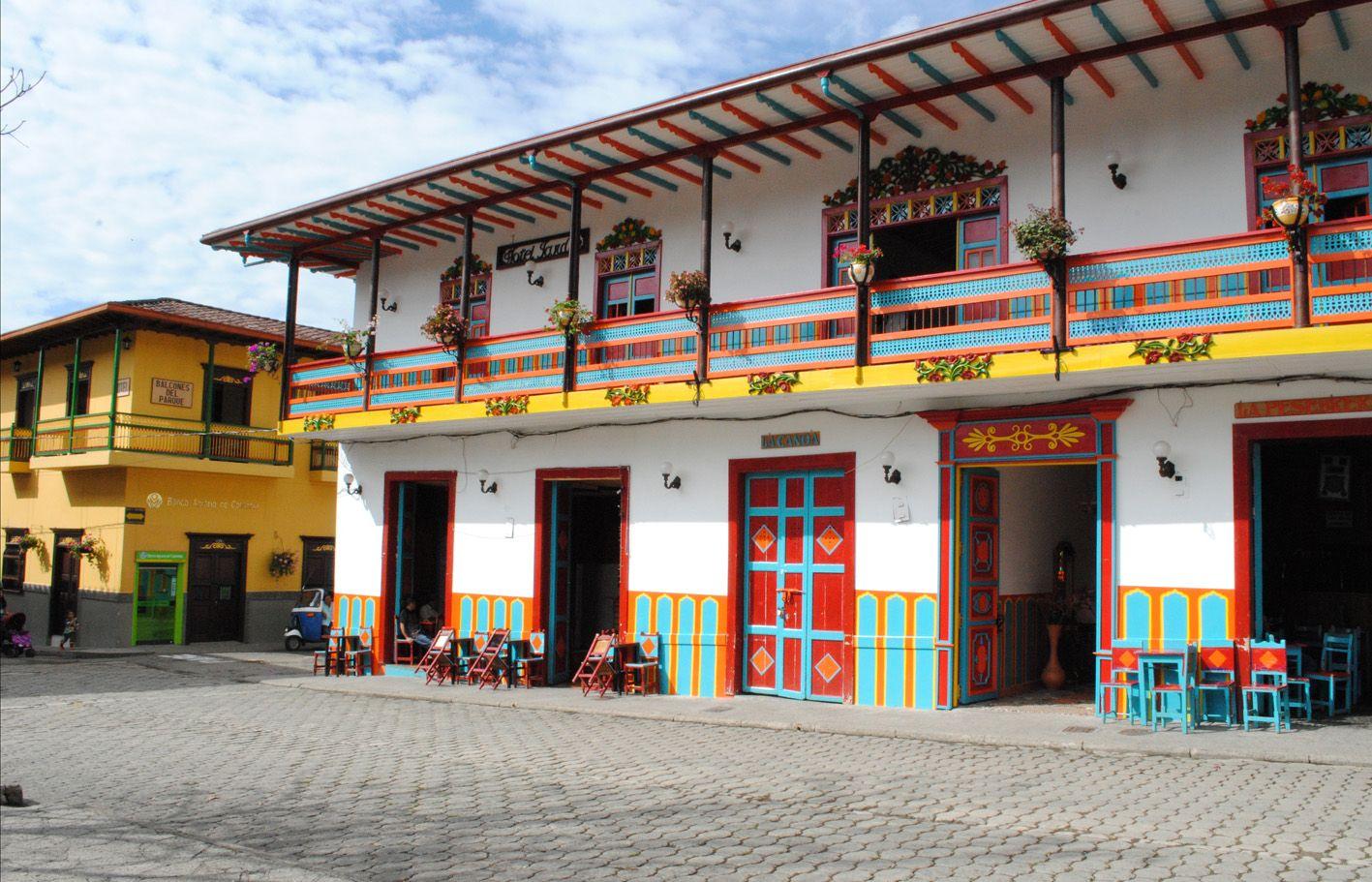Jard n antioquia postales de colombia colombia 39 s for Jardin antioquia