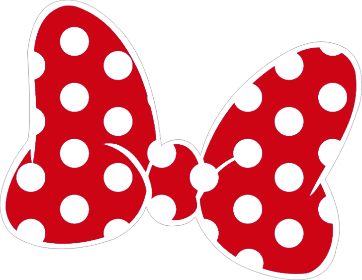Png Nơ Minnie Mouse Bow Red Minnie Mouse Mickey Mouse Silhouette