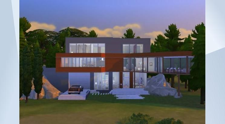 Check Out This Lot In The Sims 4 Gallery The Cullen S Family House In The Woods Twilight The Folks A Place Where Edward A Twilight House Sims 4 Sims