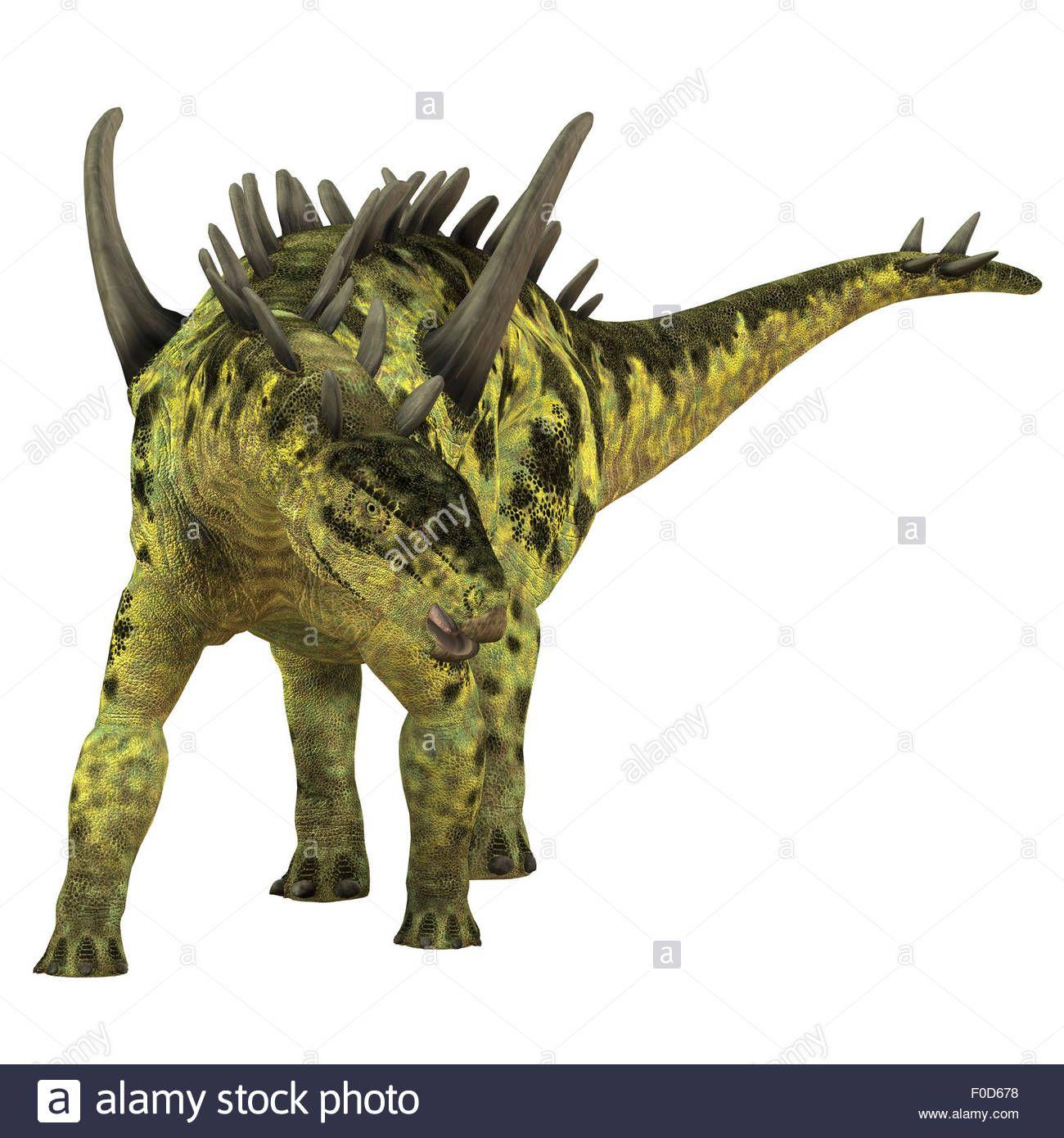 Gigantspinosaurus Was A Herbivorous Stegosaur Dinosaur