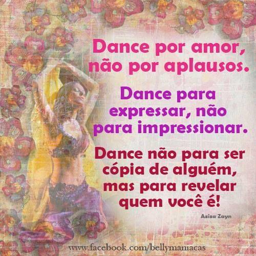 Frases De Dança Do Ventre Citações De Dança Dança Do