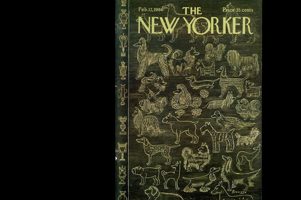 """Dogs in """"New Yorker"""""""