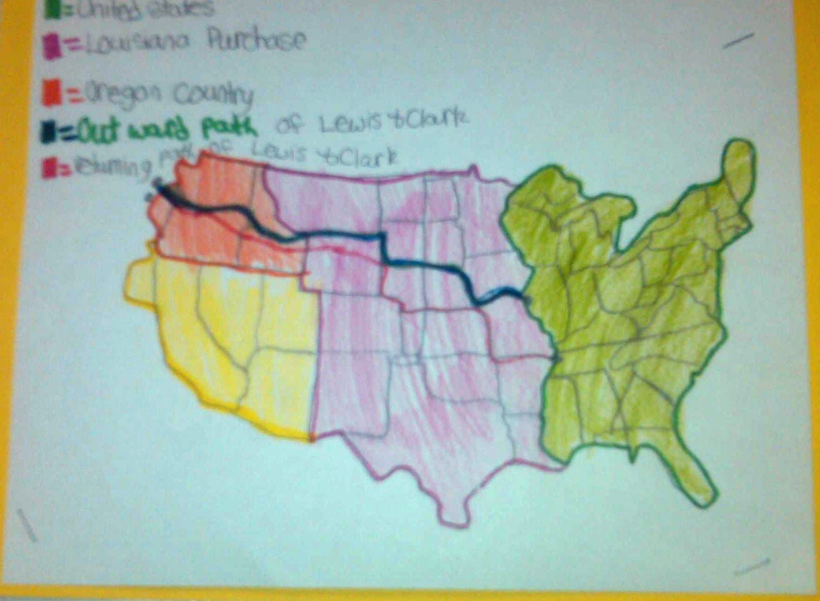 Best Ideas About Lewis And Clark On Pinterest Lewis And - Map of the united states before lewis and clark