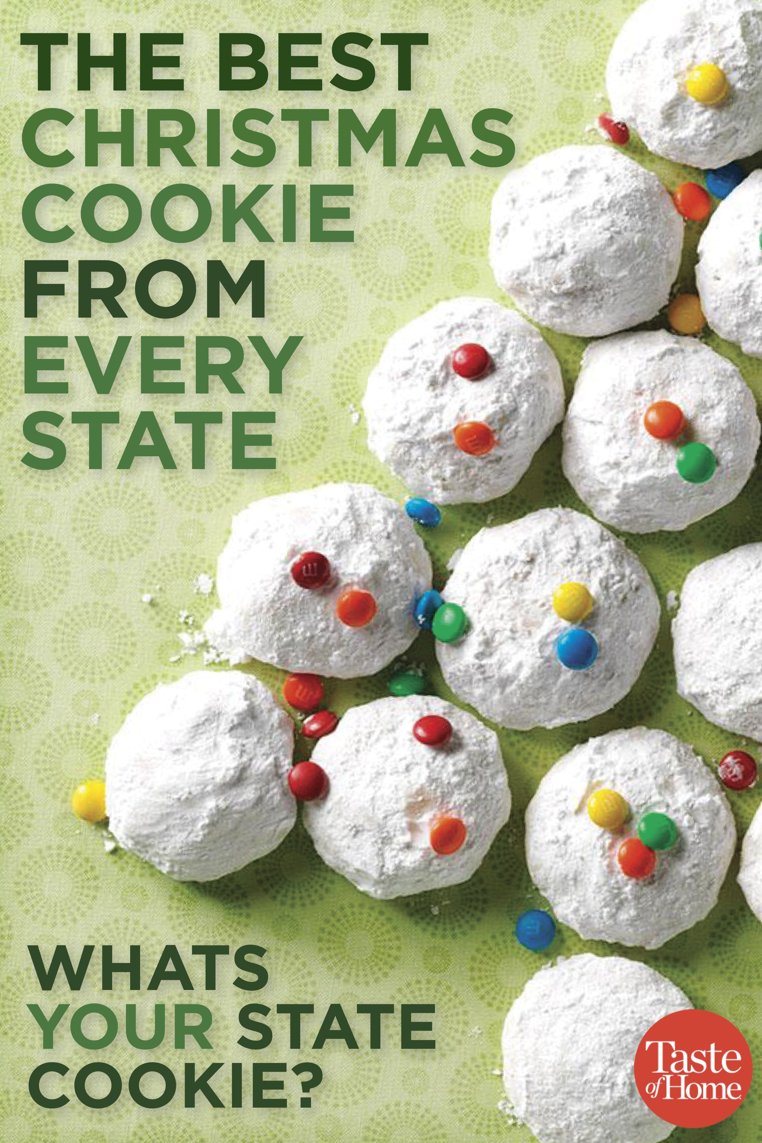 The Best Christmas Cookie From Every State Christmas Cookies