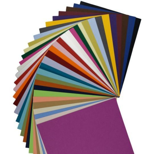 colorful matte basis variety cardstock weight paper  31