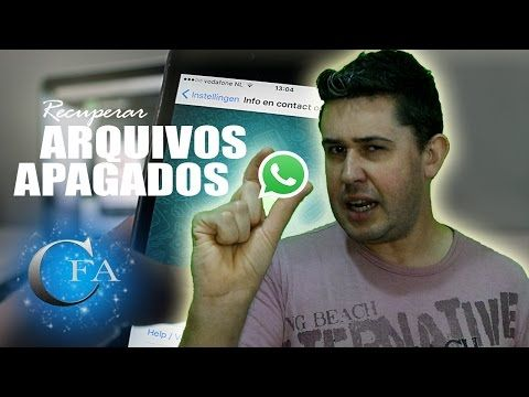 Recuperar Arquivos Apagados Do Whatsapp Youtube Com Imagens