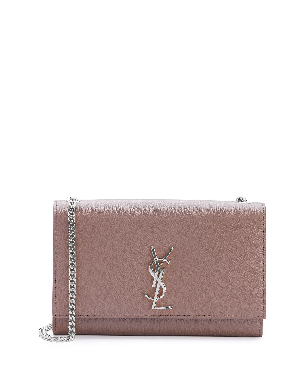 Yves Saint Laurent Monogram Small Kate Shoulder Bag, Blush ...
