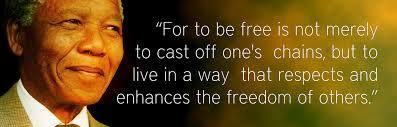 Obnoxious Freedom Nelson Mandela Nelson Mandela Quotes Freedom