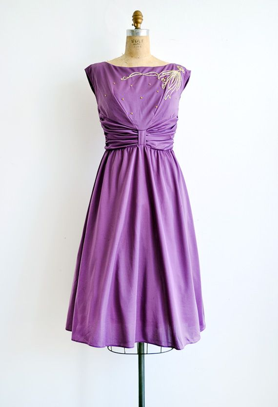 1000  images about Purple Dresses on Pinterest  1970s 50s ...