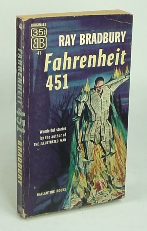 Fahrenheit 451 by Ray Bradbury. #classicbooks | Classic