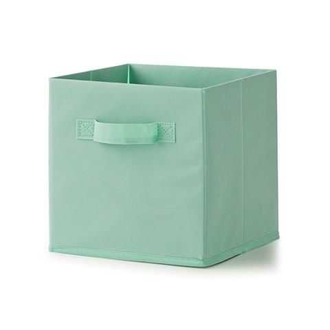 Non-woven Collapsible Storage Cube - Mint, Set of 3 | Kmart $6 ...