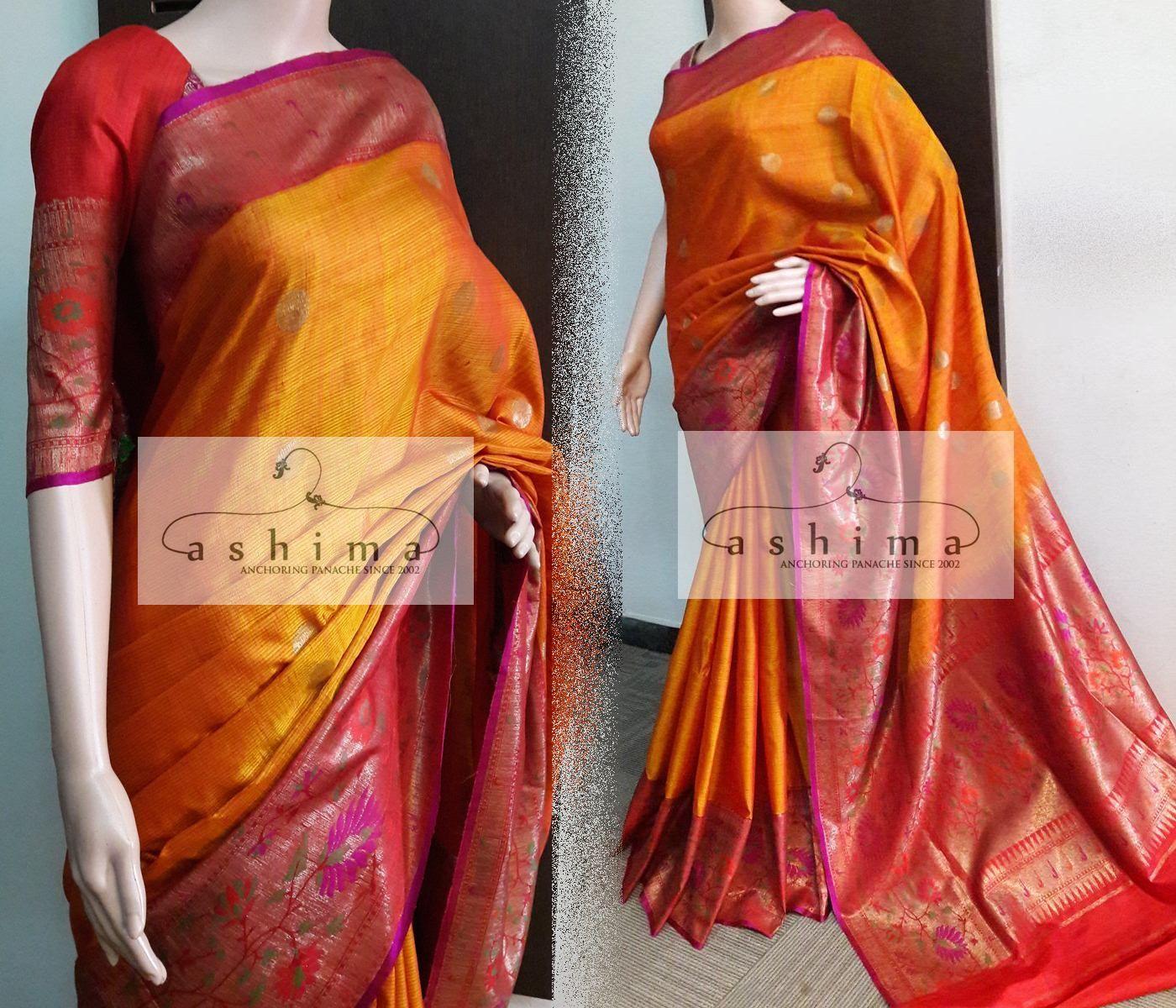 Saree images paithani code  price inr  banarasi woven saree with