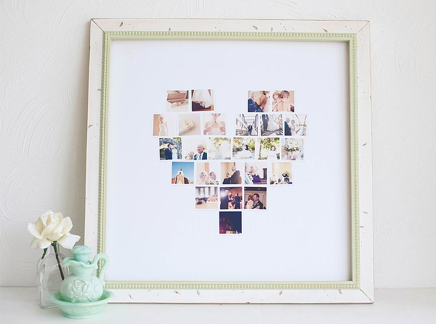 Love this photo collage idea!