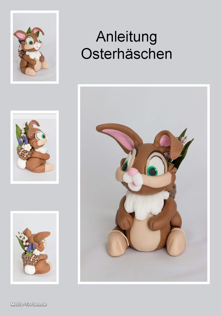 anleitung osterhase aus fondant figuren pinterest fondant ostern und fondant figuren. Black Bedroom Furniture Sets. Home Design Ideas