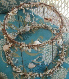 Opal glass and natural shell wire frame lamp shade slight want to opal glass and natural shell wire frame lamp shade slight keyboard keysfo Gallery