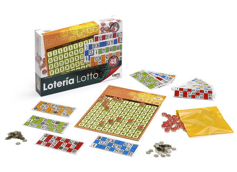 LOTERIA 48 CARTONES