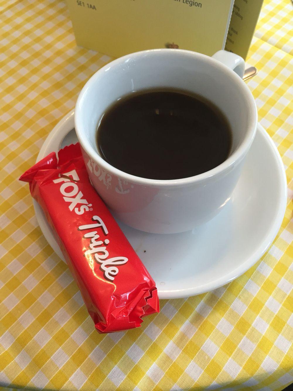 Fox's triple #coffeemorning