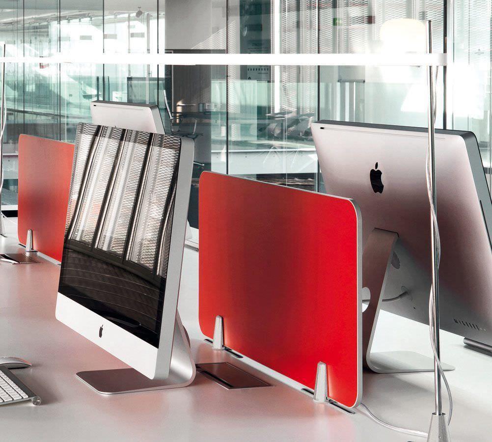 Desk partition Della Valentina Office | Casa foyer | Desk ...
