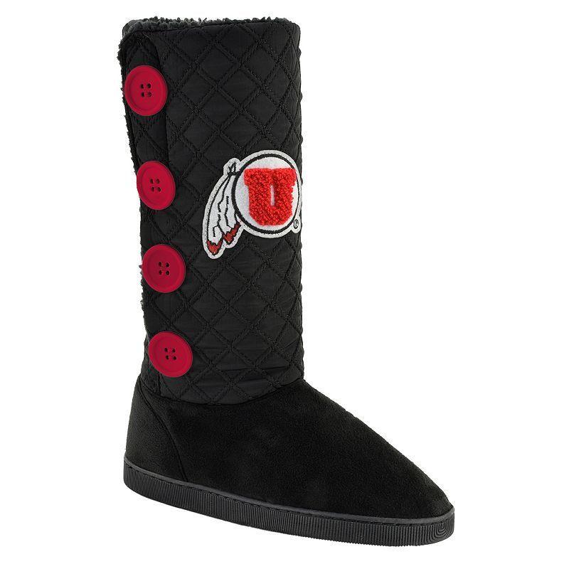 Women's Utah Utes Button Boots, Size: