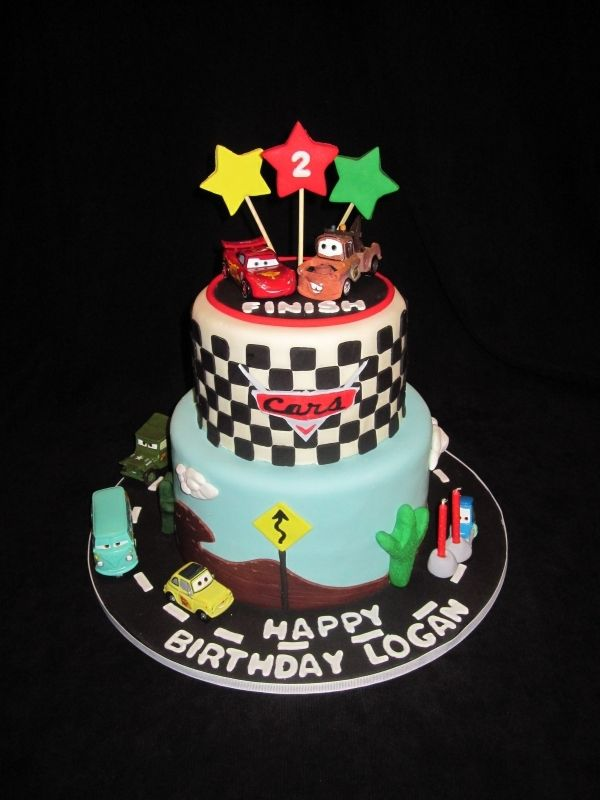 Mcqueen Cake Decorations : Cars Cake Yum Pinterest Car cakes, Cars and Cake
