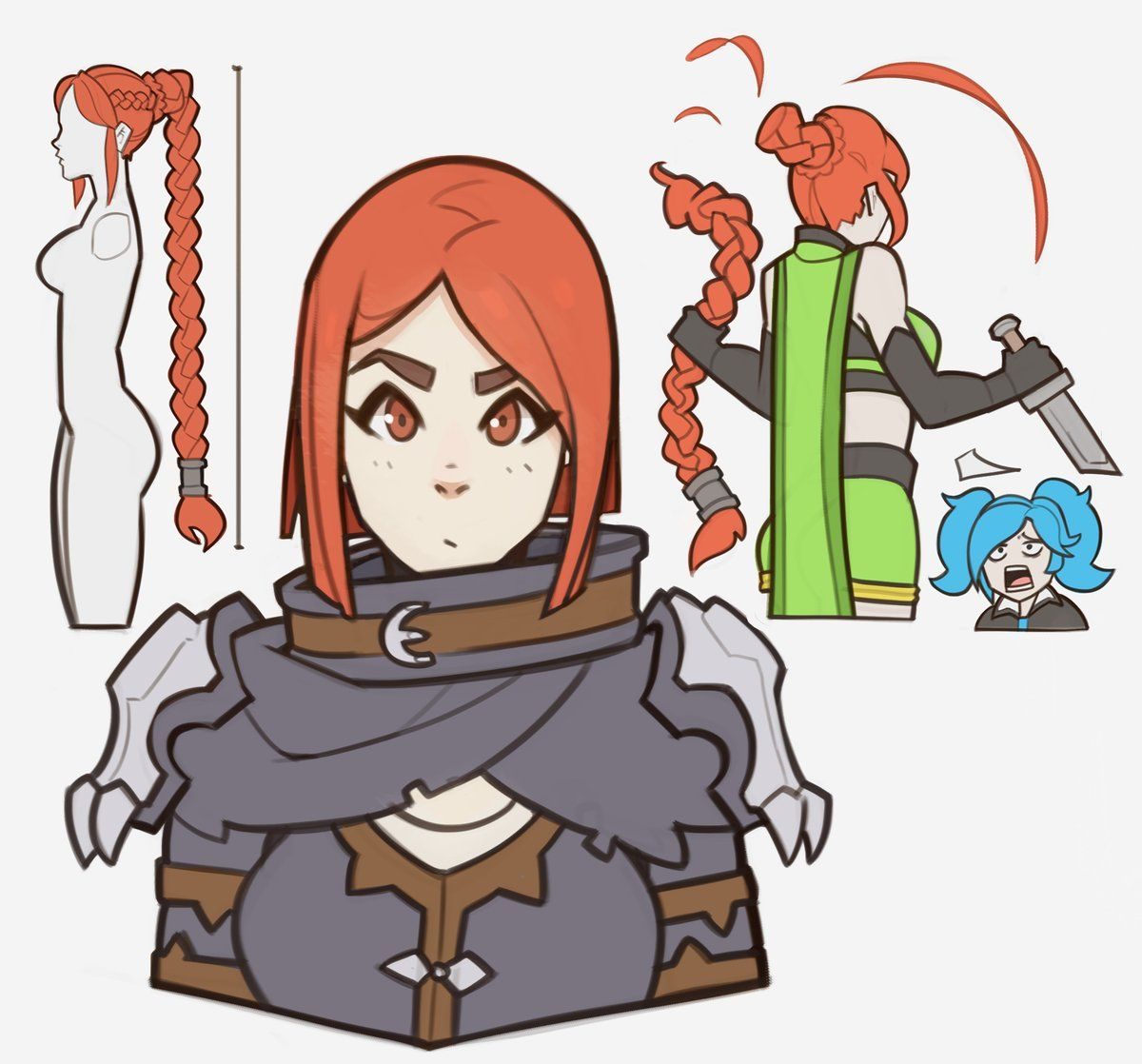 That Anime Thing When A Girl Cuts Her Hair By SplashBrush